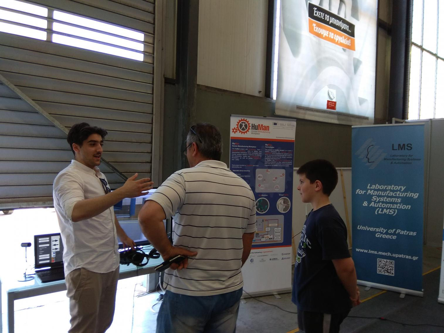 Gizelis 1st Robotic Exhibition